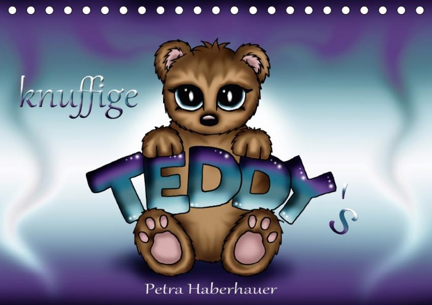 knuffige Teddys (Tischkalender 2017 DIN A5 quer) - Coverbild