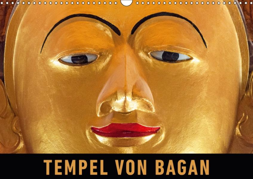 Tempel von Bagan (Wandkalender 2017 DIN A3 quer) - Coverbild