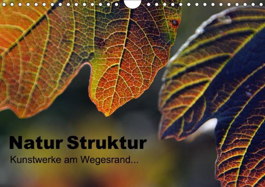 Natur Struktur - Kunstwerke am Wegesrand... (Wandkalender 2017 DIN A4 quer) - Coverbild
