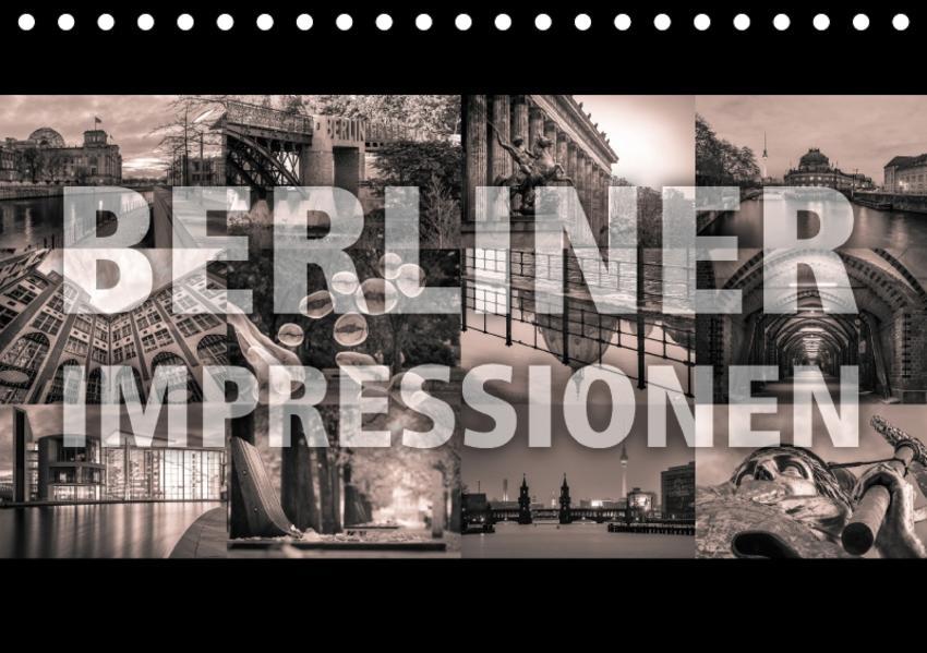 Berliner Impressionen (Tischkalender 2017 DIN A5 quer) - Coverbild