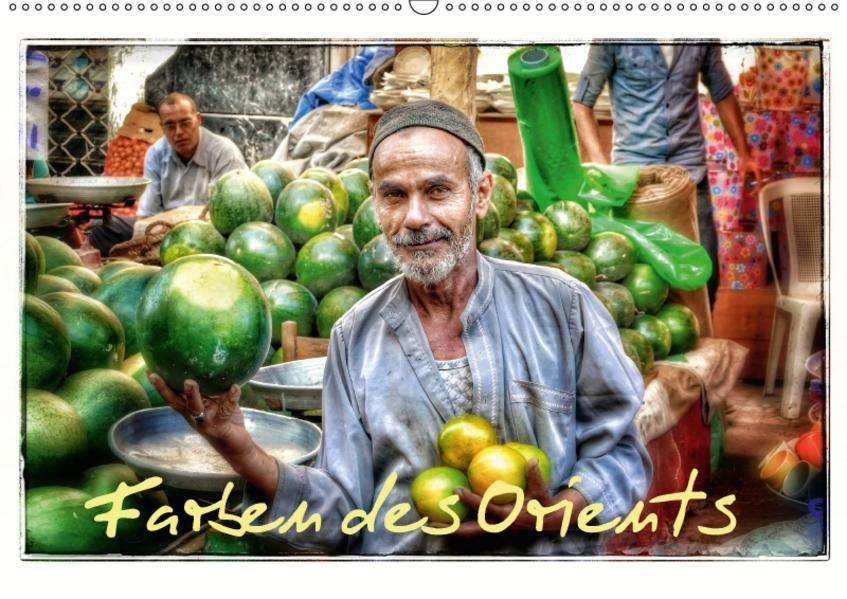 Farben des Orients (Wandkalender 2017 DIN A2 quer) - Coverbild