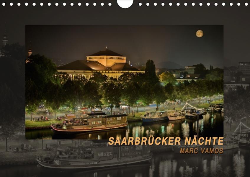 Saarbrücker Nächte (Wandkalender 2017 DIN A4 quer) - Coverbild