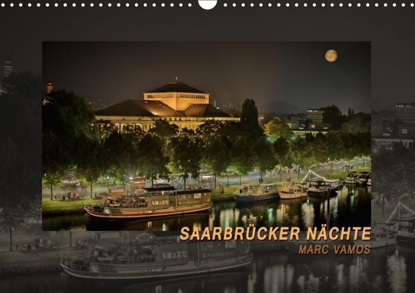 Saarbrücker Nächte (Wandkalender 2017 DIN A3 quer) - Coverbild