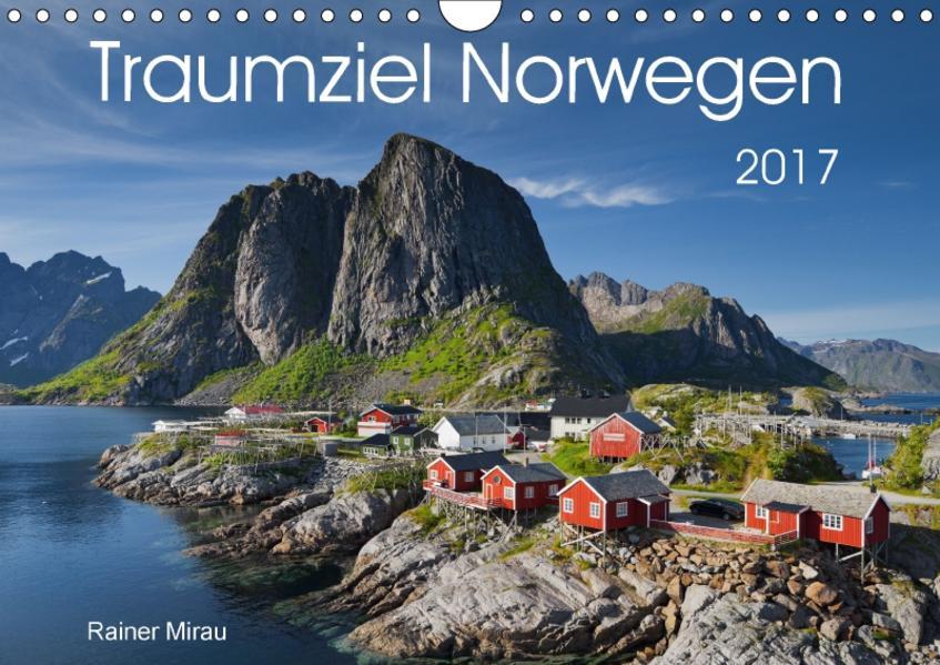 Traumziel Norwegen 2017 (Wandkalender 2017 DIN A4 quer) - Coverbild