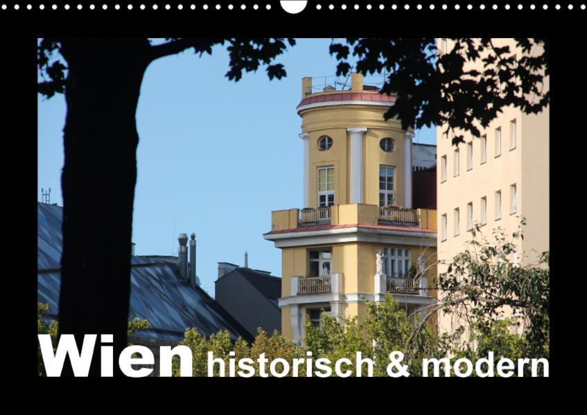 Wien - historisch und modern (Wandkalender 2017 DIN A3 quer) - Coverbild