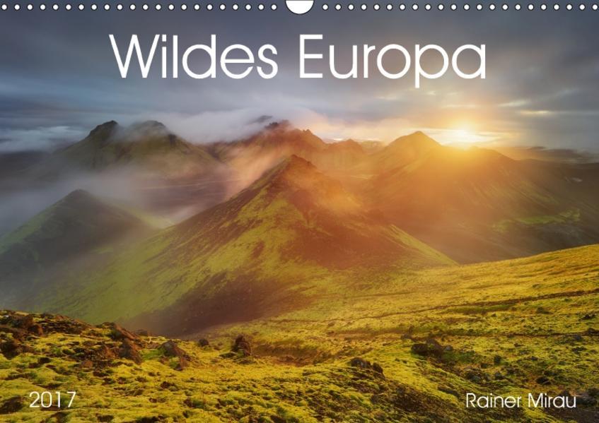 Wildes Europa 2017 (Wandkalender 2017 DIN A3 quer) - Coverbild