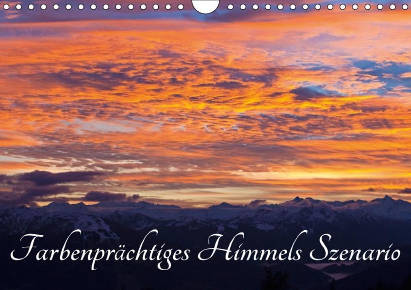 Farbenprächtiges Himmels SzenarioAT-Version  (Wandkalender 2017 DIN A4 quer) - Coverbild