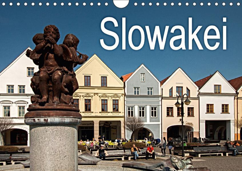 Slowakei (Wandkalender 2017 DIN A4 quer) - Coverbild