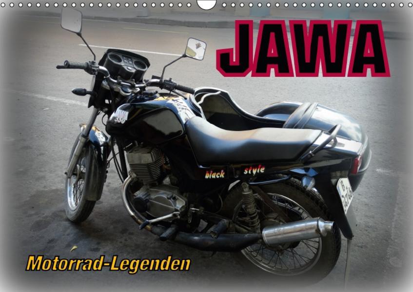 Motorrad-Legenden: JAWA (Wandkalender 2017 DIN A3 quer) - Coverbild