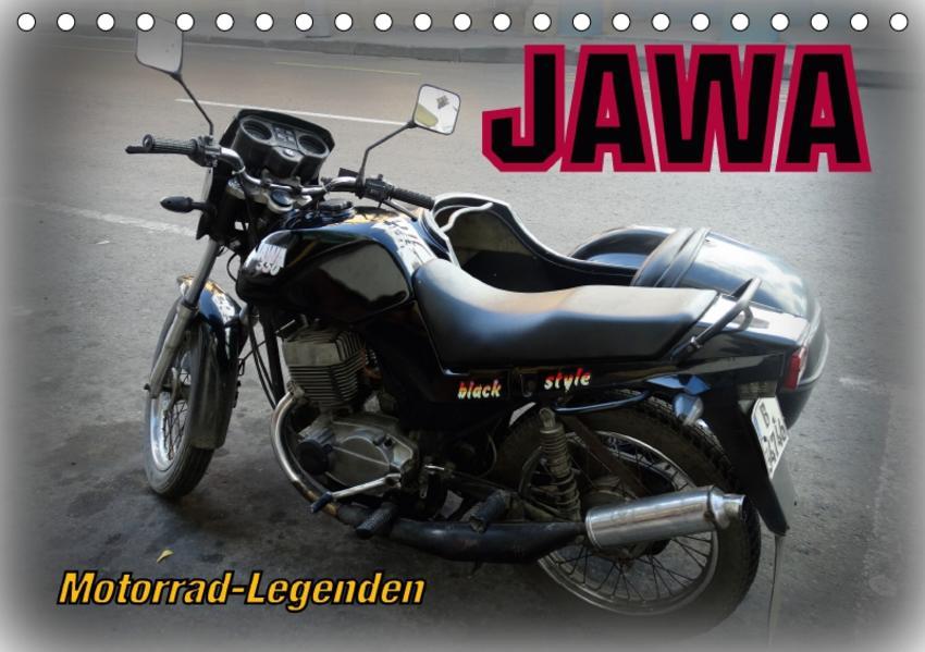 Motorrad-Legenden: JAWA (Tischkalender 2017 DIN A5 quer) - Coverbild