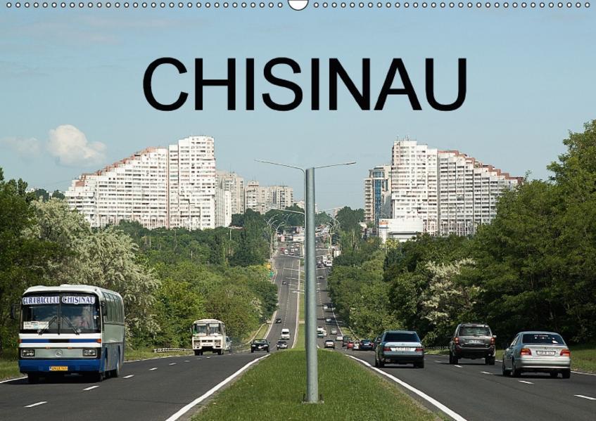 Chisinau (Wandkalender 2017 DIN A2 quer) - Coverbild