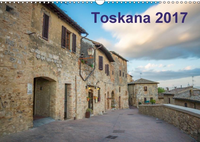 Toskana - 2017 (Wandkalender 2017 DIN A3 quer) - Coverbild
