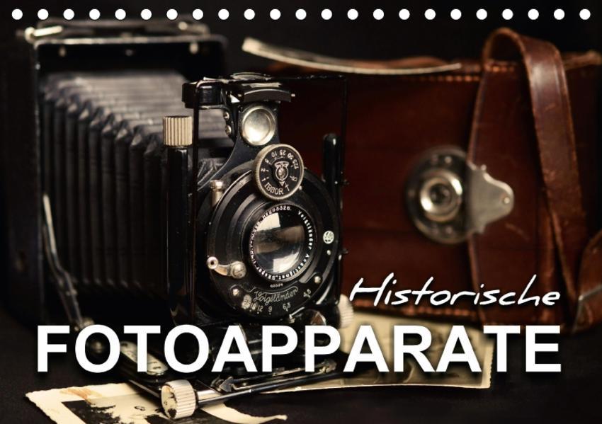 Historische Fotoapparate (Tischkalender 2017 DIN A5 quer) - Coverbild