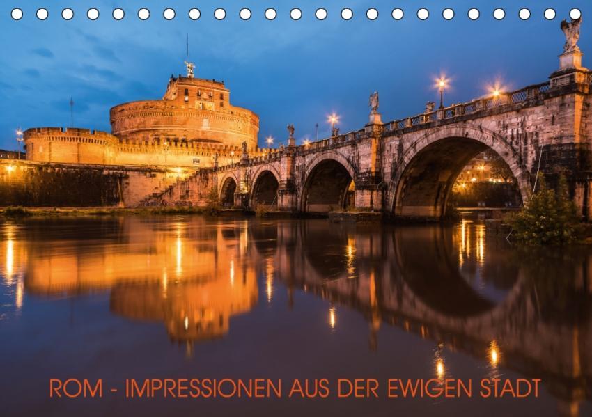 Rom - Impressionen aus der ewigen Stadt (Tischkalender 2017 DIN A5 quer) - Coverbild