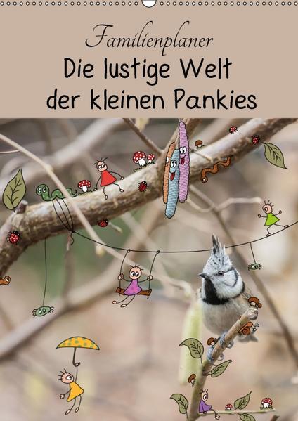 Die lustige Welt der kleinen Pankies (Wandkalender 2017 DIN A2 hoch) - Coverbild