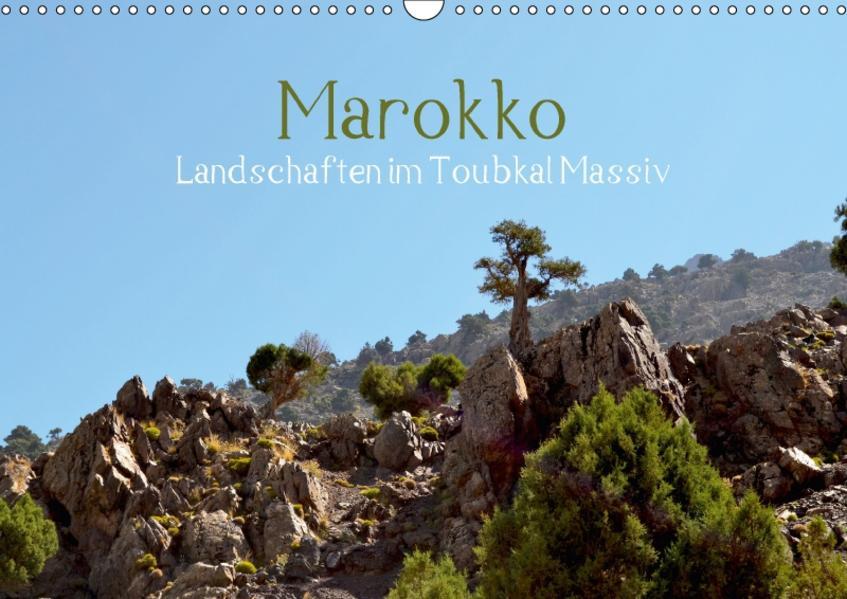 Marokko, Landschaften im Toubkal Massiv (Wandkalender 2017 DIN A3 quer) - Coverbild