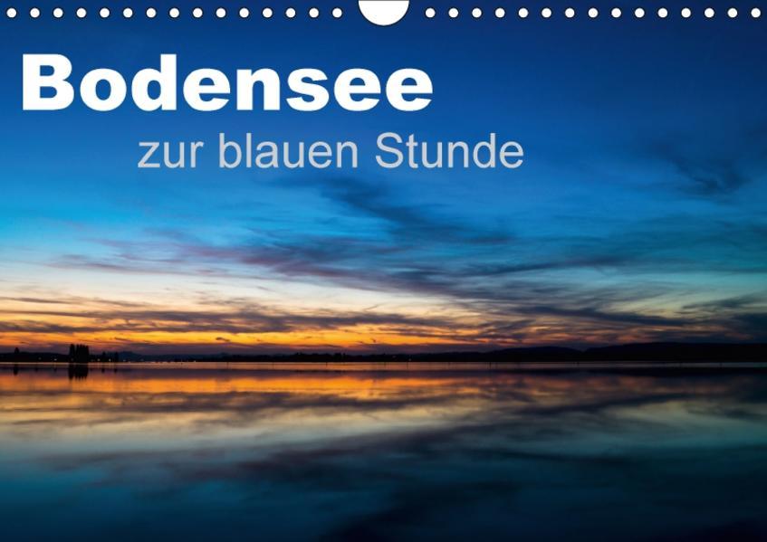 Bodensee zur blauen Stunde (Wandkalender 2017 DIN A4 quer) - Coverbild