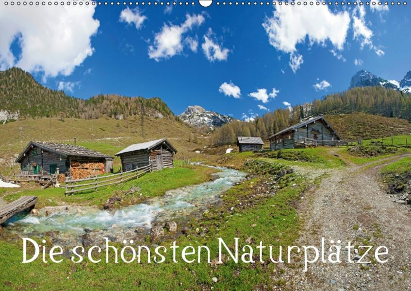 Die schönsten Naturplätze (Wandkalender 2017 DIN A2 quer) - Coverbild