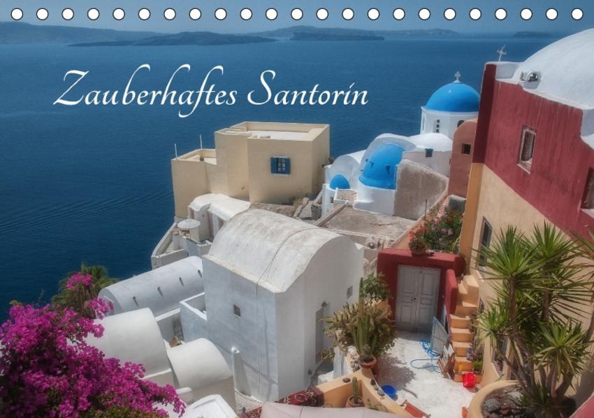 Zauberhaftes Santorin (Tischkalender 2017 DIN A5 quer) - Coverbild