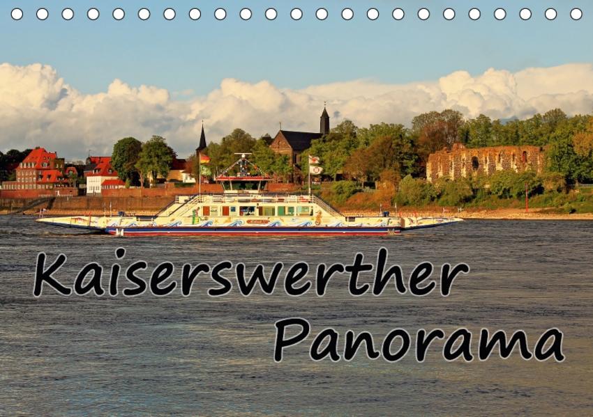 Kaiserswerther Panorama (Tischkalender 2017 DIN A5 quer) - Coverbild
