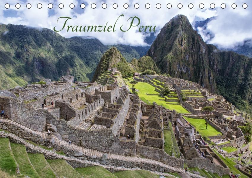 Traumziel Peru (Tischkalender 2017 DIN A5 quer) - Coverbild