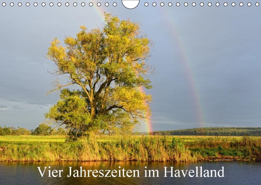 Vier Jahreszeiten im Havelland (Wandkalender 2017 DIN A4 quer) - Coverbild