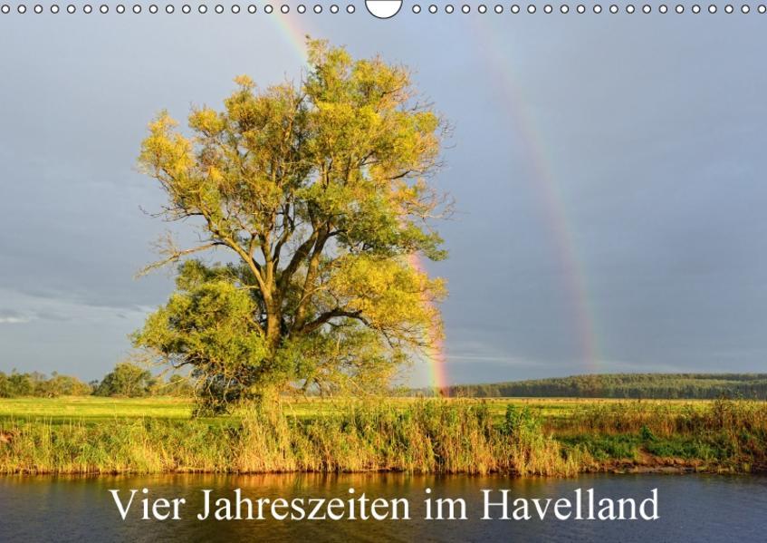 Vier Jahreszeiten im Havelland (Wandkalender 2017 DIN A3 quer) - Coverbild
