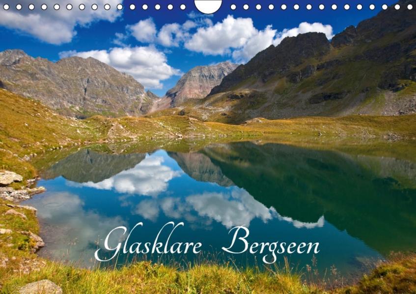 Glasklare Bergseen (Wandkalender 2017 DIN A4 quer) - Coverbild