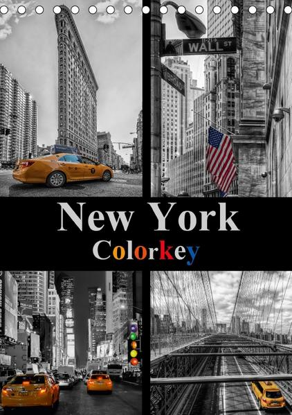 New York Colorkey (Tischkalender 2017 DIN A5 hoch) - Coverbild
