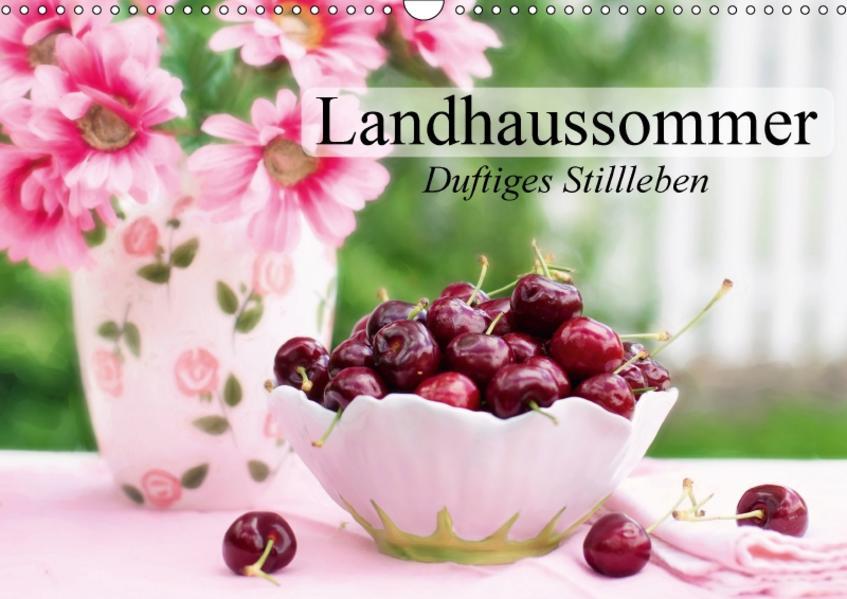 Landhaussommer. Duftiges Stillleben (Wandkalender 2017 DIN A3 quer) - Coverbild