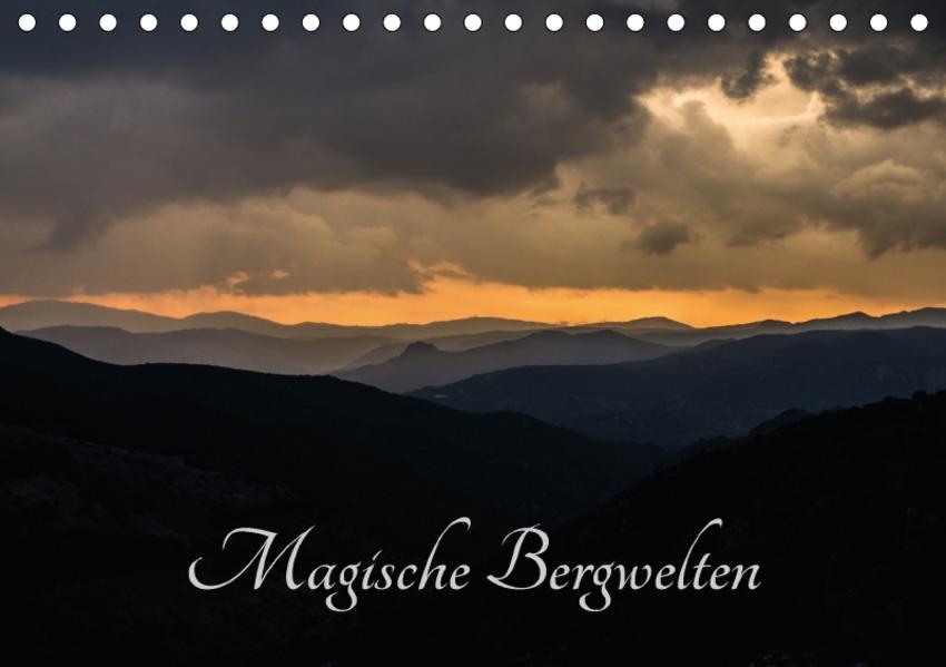 Magische Bergwelten (Tischkalender 2017 DIN A5 quer) - Coverbild