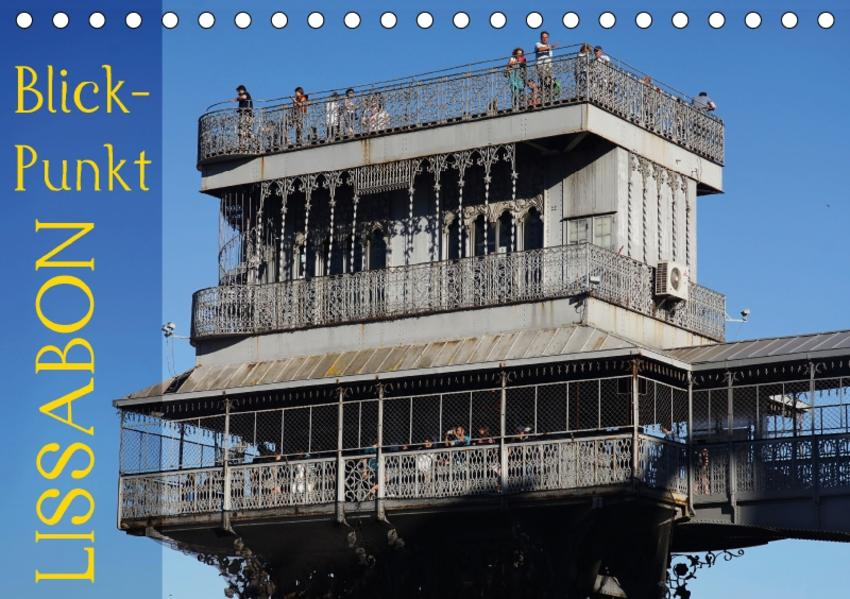BlickPunkt Lissabon (Tischkalender 2017 DIN A5 quer) - Coverbild