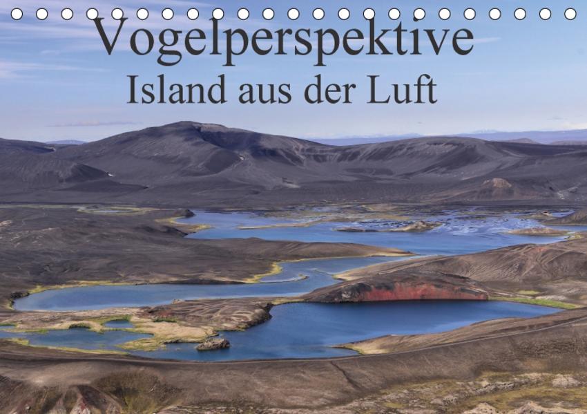 Vogelperspektive Island aus der Luft (Tischkalender 2017 DIN A5 quer) - Coverbild