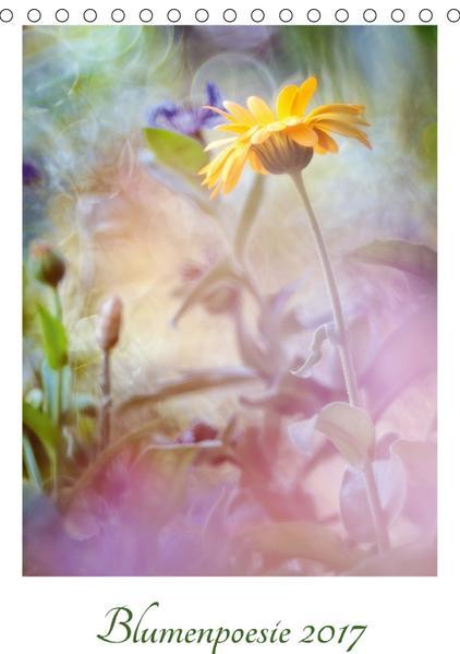 Blumenpoesie 2017 (Tischkalender 2017 DIN A5 hoch) - Coverbild