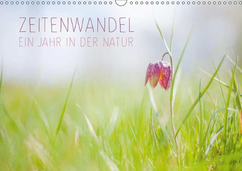 Zeitenwandel - Ein Jahr in der Natur (Wandkalender 2017 DIN A3 quer) - Coverbild