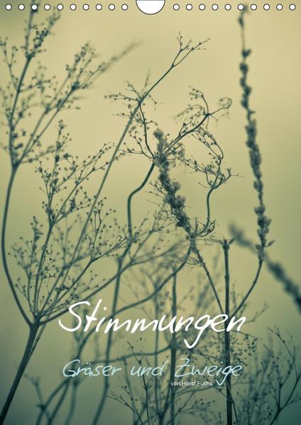 STIMMUNGEN - Gräser und Zweige (Wandkalender 2017 DIN A4 hoch) - Coverbild