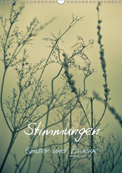STIMMUNGEN - Gräser und Zweige (Wandkalender 2017 DIN A3 hoch) - Coverbild