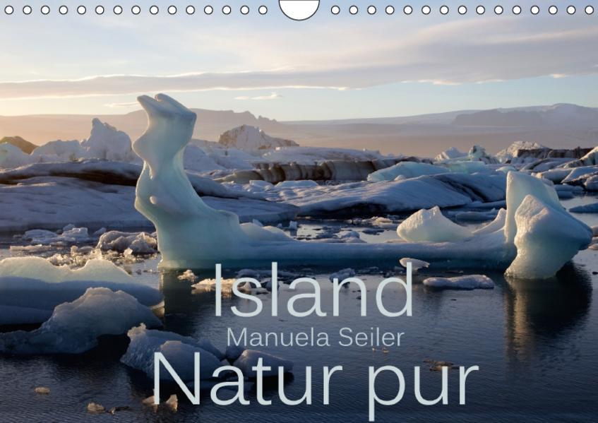 Island Natur pur (Wandkalender 2017 DIN A4 quer) - Coverbild
