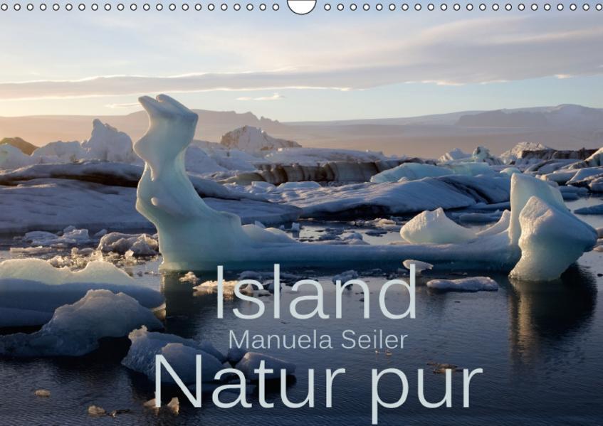 Island Natur pur (Wandkalender 2017 DIN A3 quer) - Coverbild