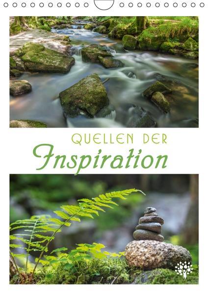 Quellen der Inspiration (Wandkalender 2017 DIN A4 hoch) - Coverbild