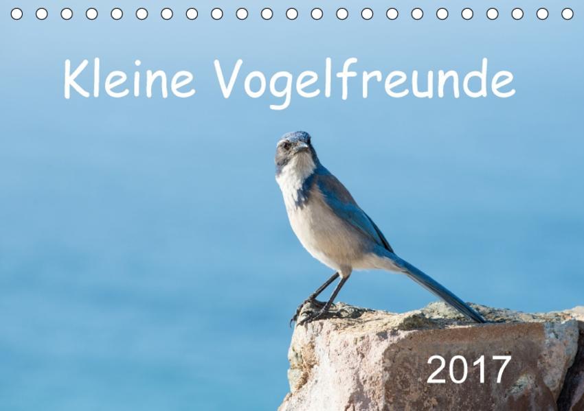 Kleine Vogelfreunde (Tischkalender 2017 DIN A5 quer) - Coverbild