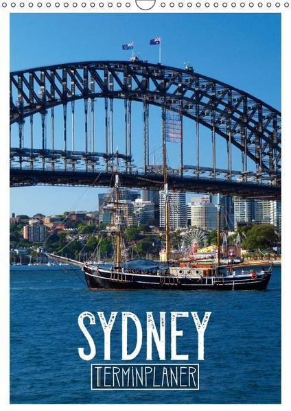 SYDNEY Terminplaner (Wandkalender 2017 DIN A3 hoch) - Coverbild