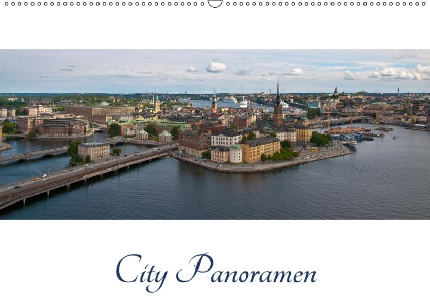 City - Panoramen (Wandkalender 2017 DIN A2 quer) - Coverbild