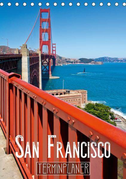 SAN FRANCISCO Terminplaner (Tischkalender 2017 DIN A5 hoch) - Coverbild