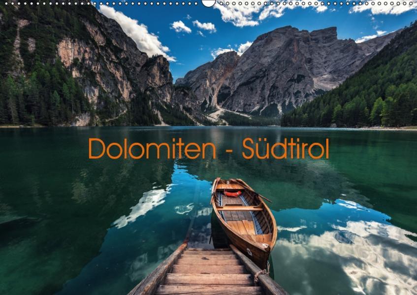 Dolomiten - Südtirol (Wandkalender 2017 DIN A2 quer) - Coverbild