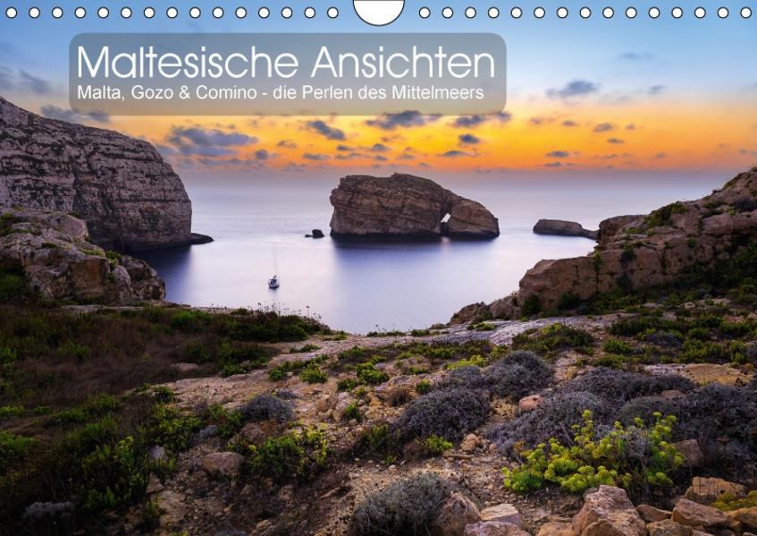 Maltesische Ansichten (Wandkalender 2017 DIN A4 quer) - Coverbild