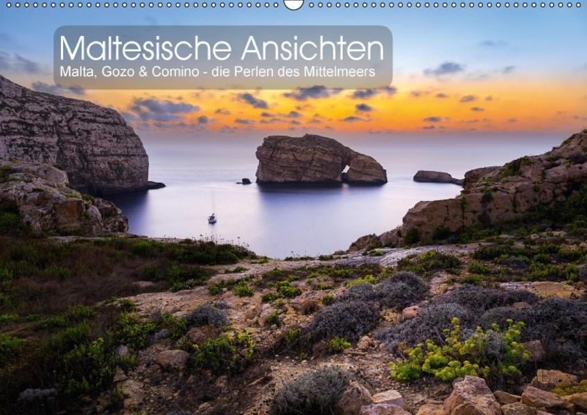 Maltesische Ansichten (Wandkalender 2017 DIN A2 quer) - Coverbild