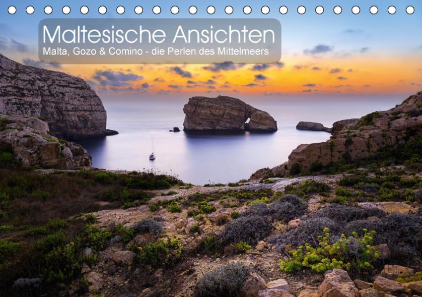Maltesische Ansichten (Tischkalender 2017 DIN A5 quer) - Coverbild