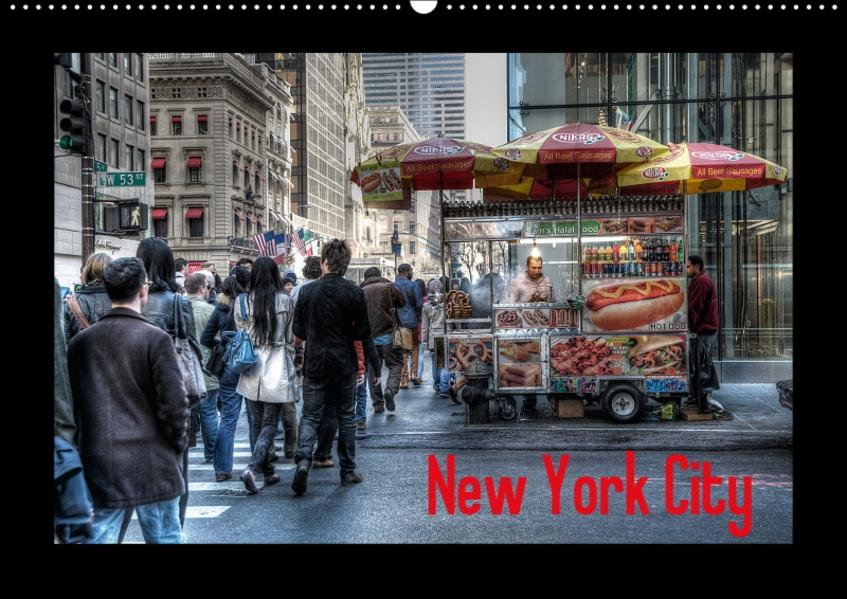 New York City (Wandkalender 2017 DIN A2 quer) - Coverbild