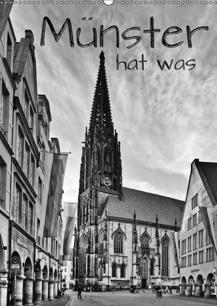 Münster hat was (Wandkalender 2017 DIN A2 hoch) - Coverbild